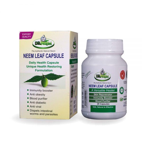 32 Neem Leaf Capsules-1