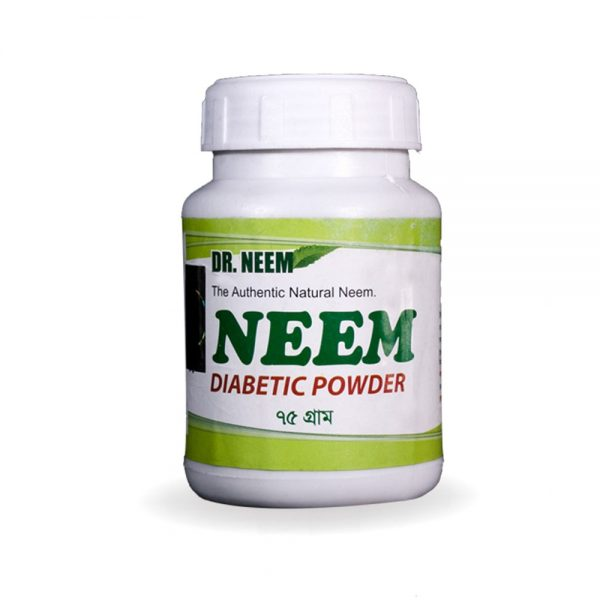 34 Neem Diabetic Powder 75gm-1